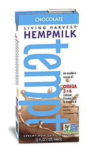 Living Harvest Hemp Milk Tempt, Chocolate, 32 fl oz