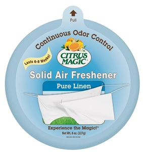 Citrus Magic Air Freshener, Pure Linen, 8 oz