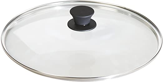 Lodge Cast Iron Tempered Glass Lid, 12 Inch