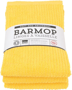 Now Designs Bar Mop, 3 Pack, Yellow