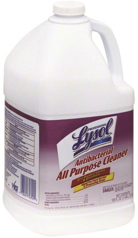 Lysol Antibacterial Disinfectant Cleaner, 1 gal Bottle