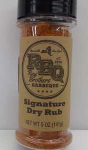 Ray Brothers BBQ Signature Dray Rub