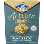 Blue Diamond Almonds Nut-Thins Cracker, Flax Seed