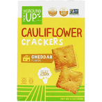 From The Ground Up Cauliflower Cheddar Crackers