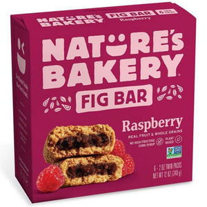 Nature's Bakery Fig Bar, Raspberry, 6 Twin Pack