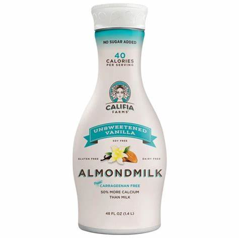 Califia Farms, Unsweetened Vanilla, Almond Milk