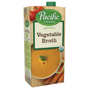 Pacific Foods Organic Vegetable Broth, 32 fl oz
