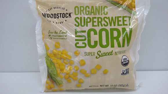 Corn, Supersweet, Organic, Frozen