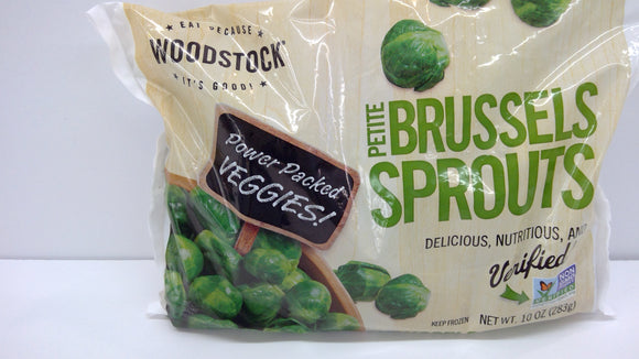 Brussel Sprouts, Petite, Organic, Frozen