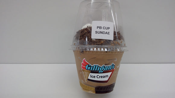Gilligan's Ice Cream PB Cup Sundae