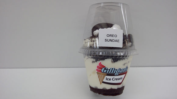 Gilligan's Ice Cream Oreo Sundae
