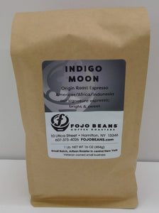 FOJO BEANS Coffee, Indigo Moon