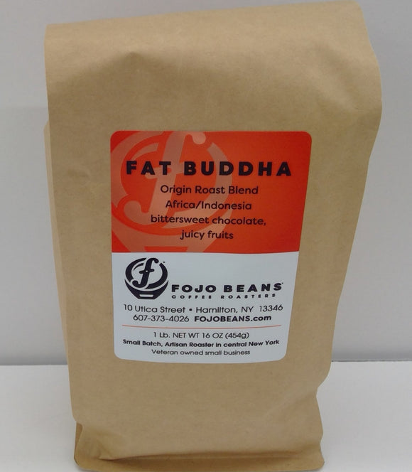 FOJO BEANS Coffee, Fat Buddha