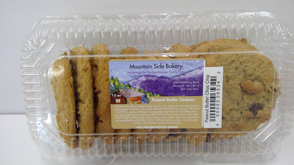 Mountain Side Bakery Peanut Butter Chocolate Chip Cookies