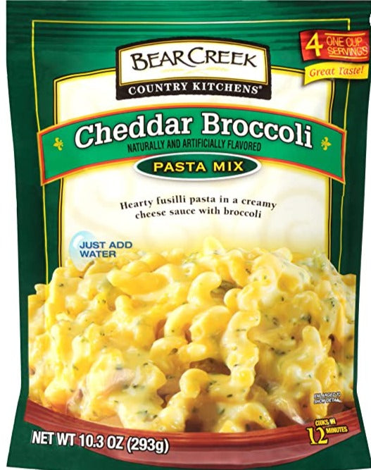 Bear Creek Country Kitchens Pasta Mix, Cheddar Broccoli
