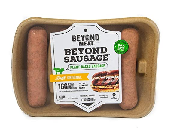 Beyond Meat, The Beyond Sausage, 8pk, The Original Brat