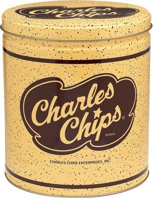 Charles Chips in Tin Can 16oz