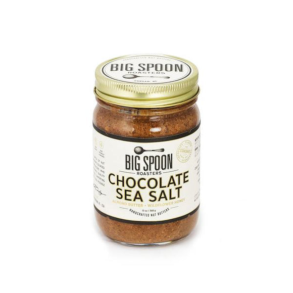 Big Spoon Roasters Chocolate Sea Salt Almond Butter