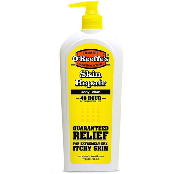 O'Keefe's Skin Repair Body Lotion, Unscented, 12 oz