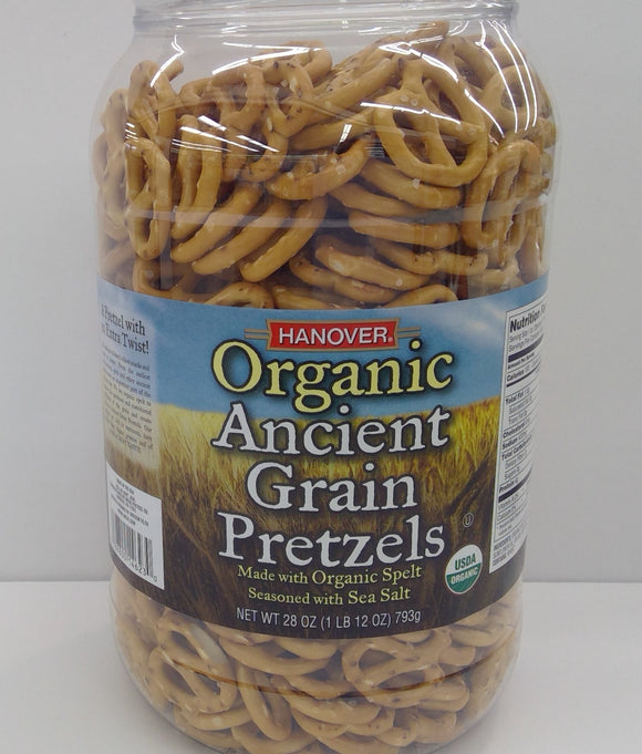 Pretzels Organic Ancient Grain