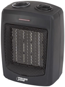 Power Zone Electric Ceramic Heater, 1500 Watts