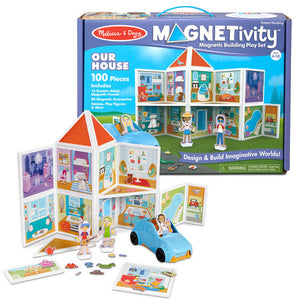 Magnetivity - Magnetic Building Play Set - Our House