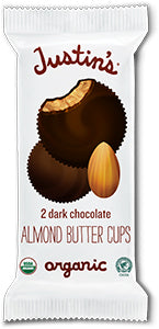 Justin's Dark Chocolate Almond Butter Cups, Organic