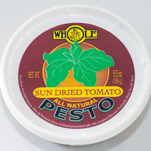 Whole in the Wall, Pesto, Sundried Tomato 5.5oz