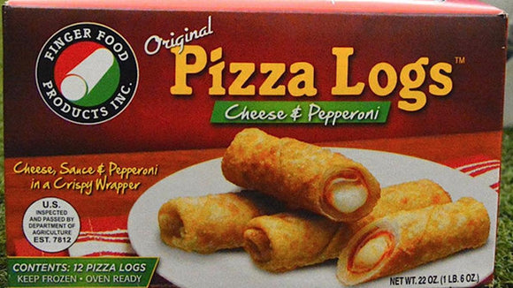 Original Pizza Logs, Cheese & Pepperoni 12ct