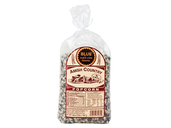 Amish Country Blue Popcorn, 2lb