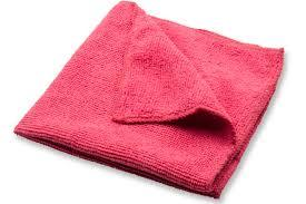 Gourmet Expressions All Purpose Microfiber Cloths, 4 Pack, Red