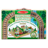 Take Along Railroad - Portable play surface anywhere!