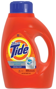 Tide 08875 Laundry Detergent, 50 oz Bottle