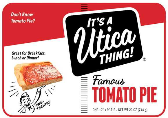 It'a A Utica Thing! Tomato Pie