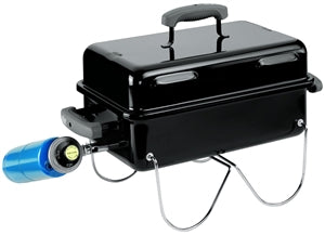 Weber Go-Anywhere 1141001 Gas Grill, Liquid Propane, Stainless Steel