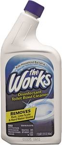 The Works 33310WK Toilet Bowl Cleaner, 32 oz Bottle