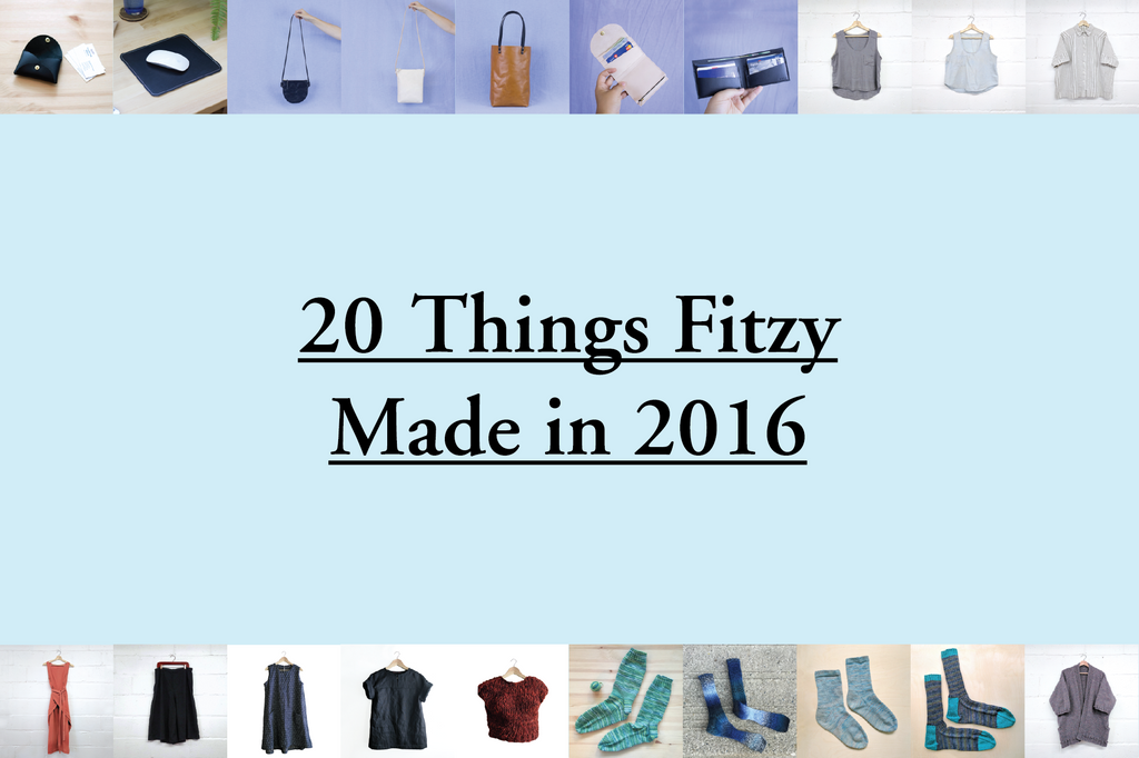 20 Things Fitzy Made in 2016