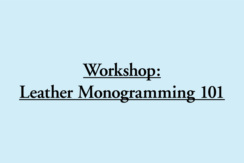 New Workshop - August 24
