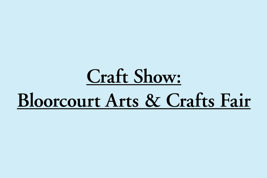 Craft Show This Saturday!
