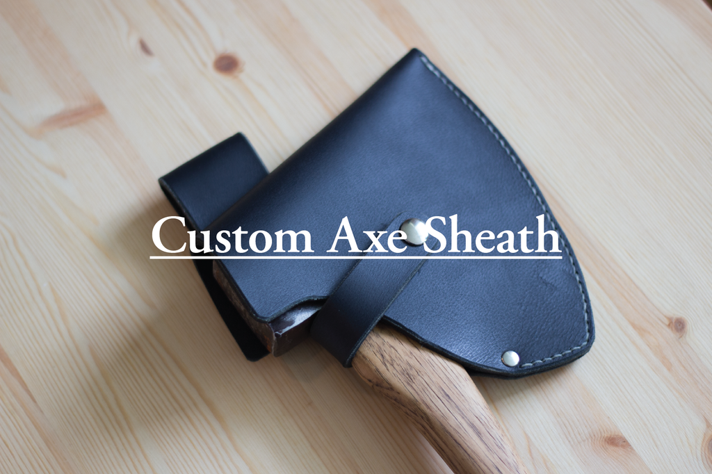 Custom Leather Axe Sheath