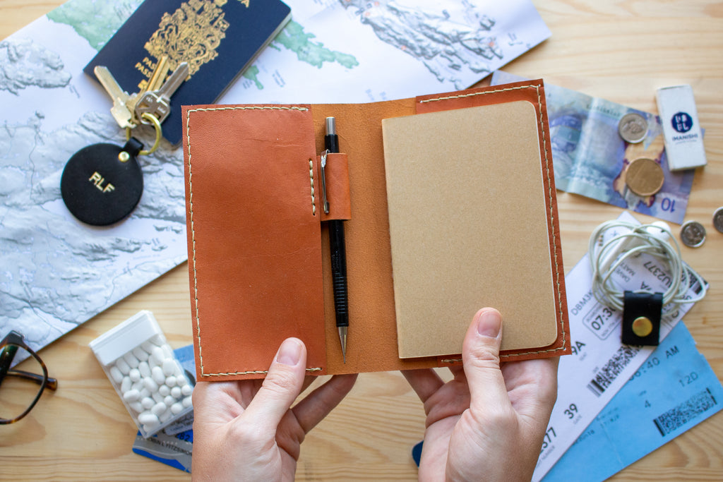 POSTPONED - March 26, 2020 - Leather Notebook Cover