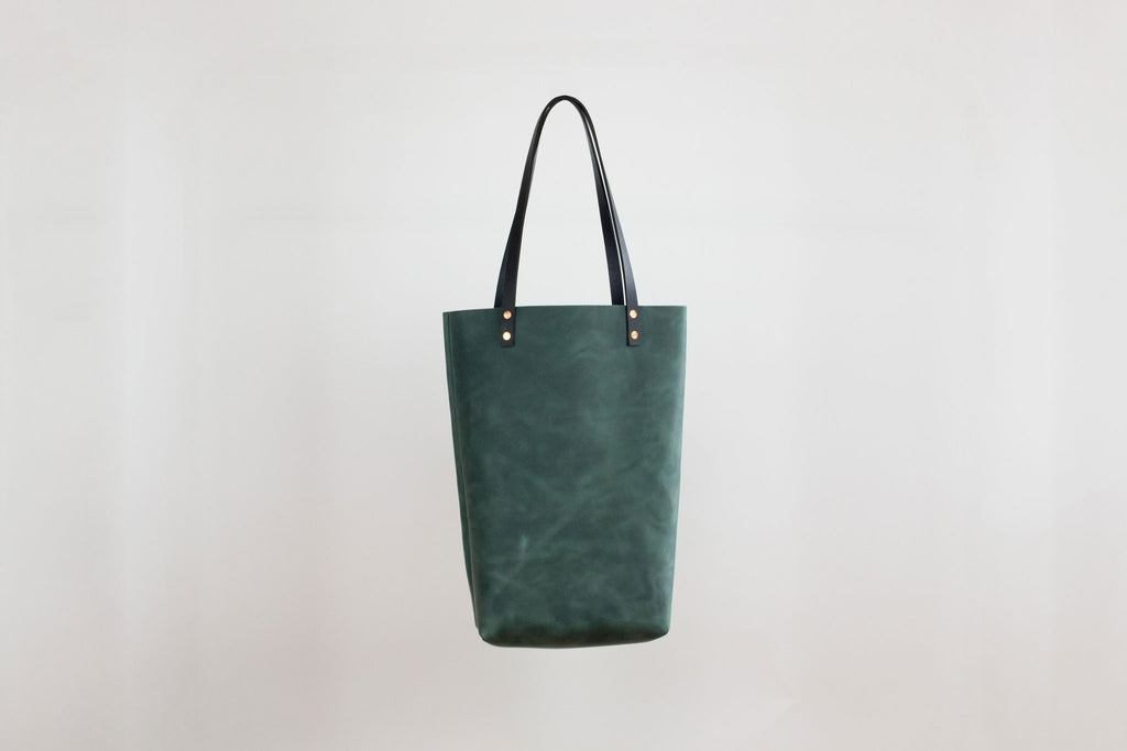 Karen Tote - Forest Leather