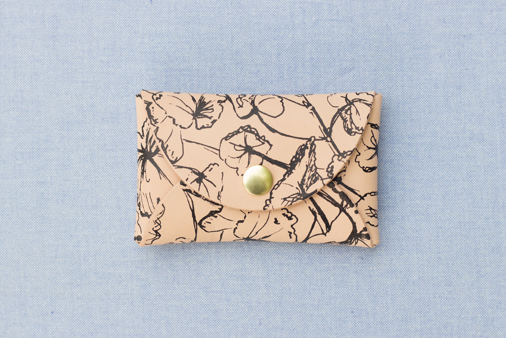 Geranium Mini Wallet