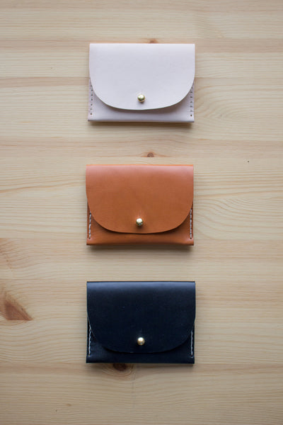 DIY Kit: Handsewn Leather Wallet