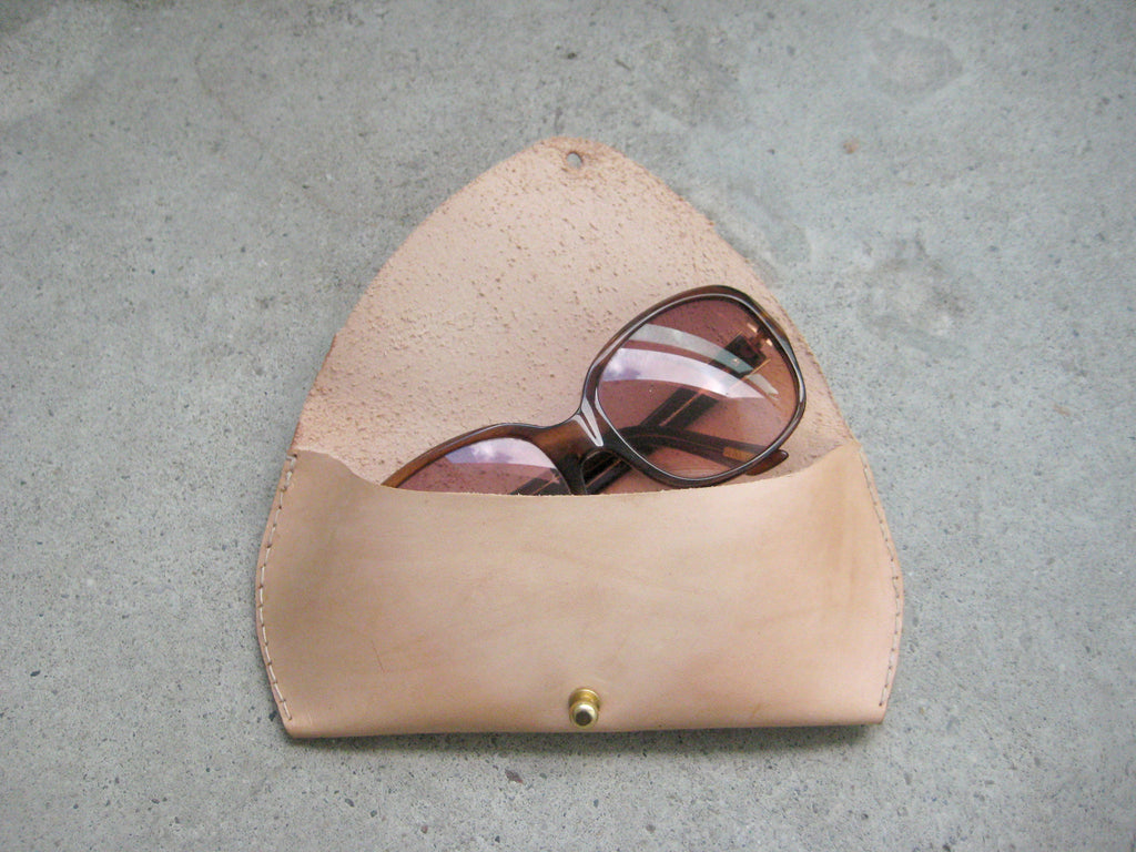 Nude Sunglass Case
