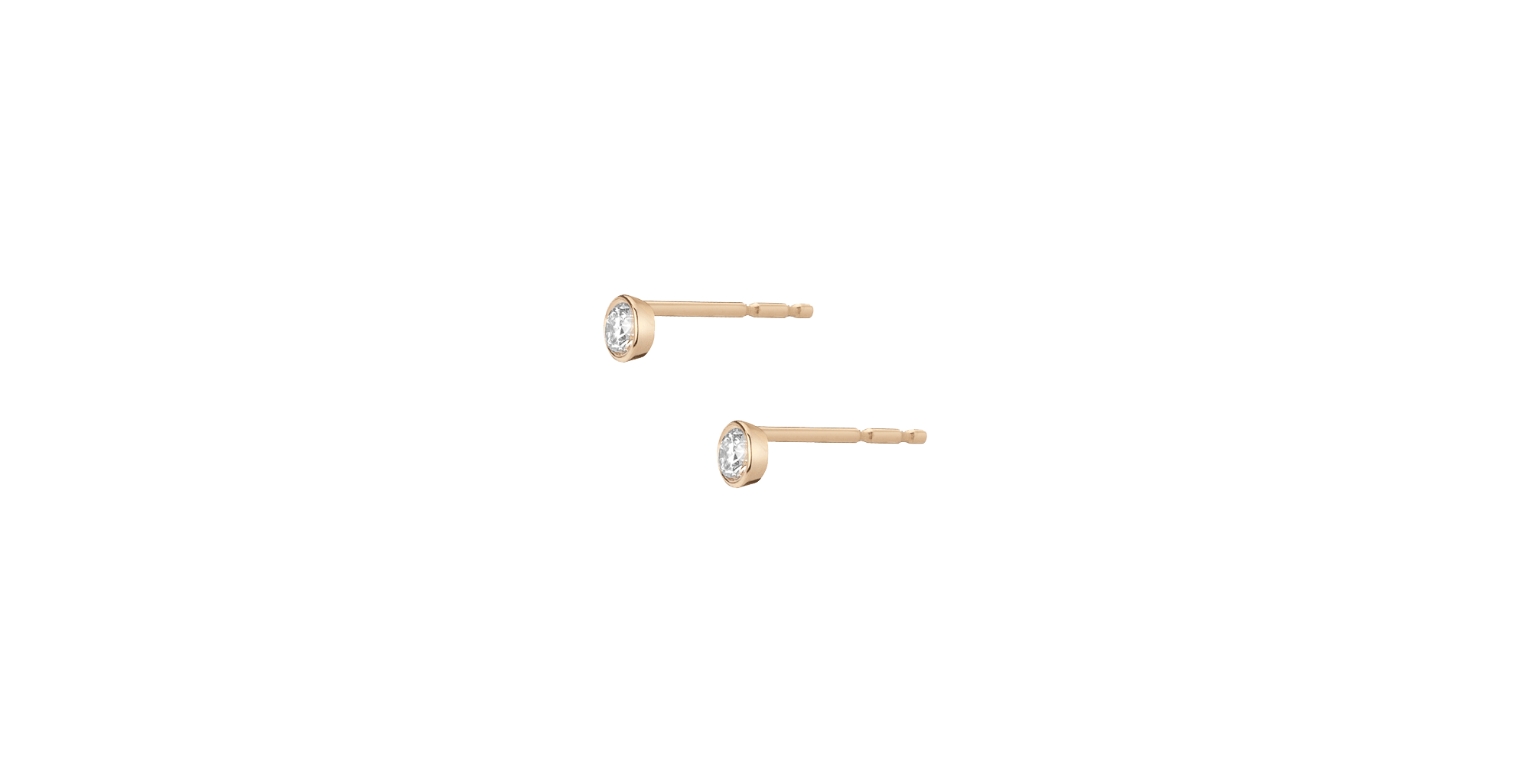 AUrate Mini Bezel Studs