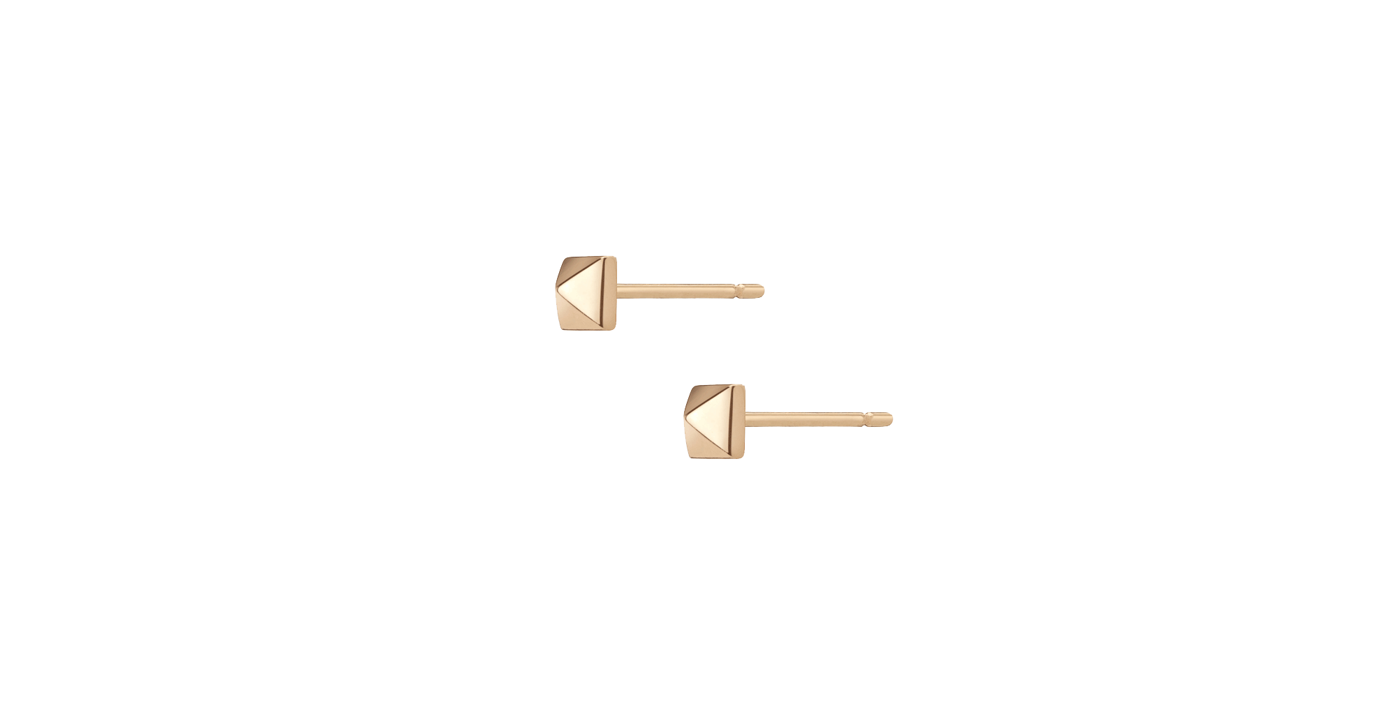 AUrate Mini Pyramid Studs