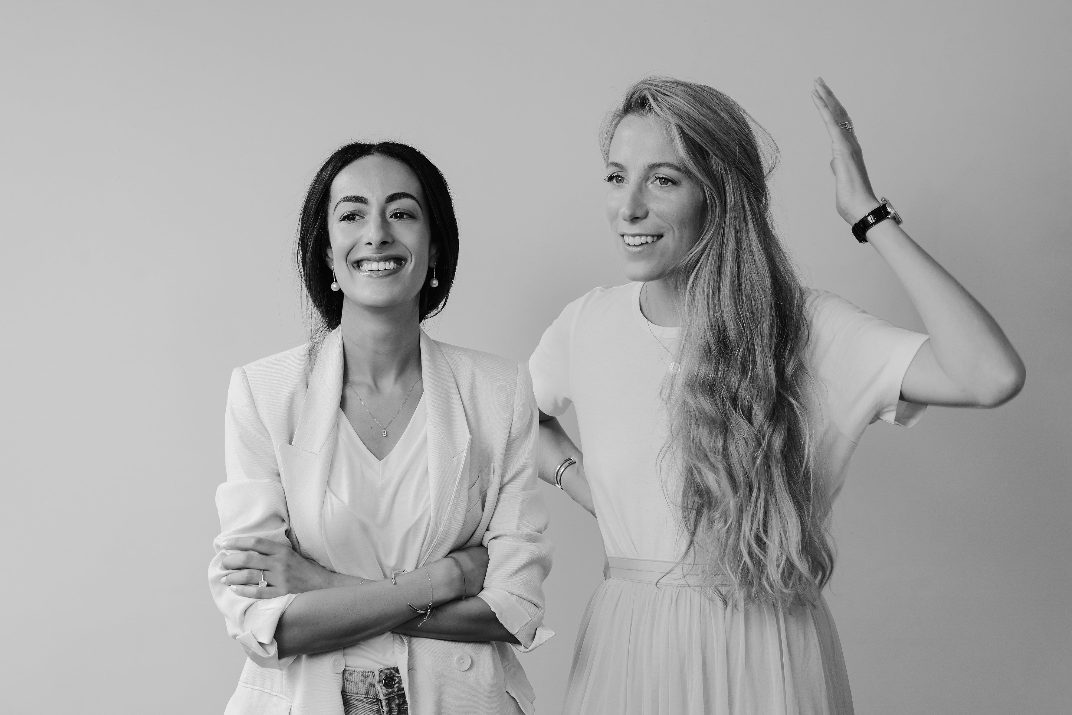 Sophie and Bouchra, AUrate cofounders