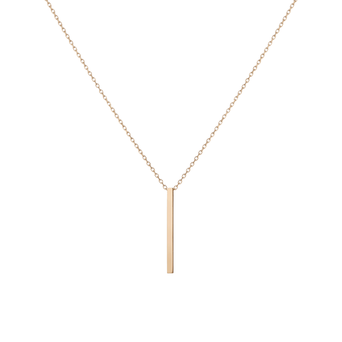 3fc66fcce1cb4 Short Gold Bar Drop Necklace – AUrate New York