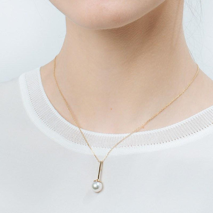 Proud Simple Pearl Pendant